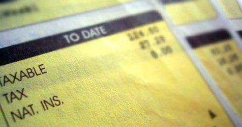 Daň na výplatnej páske v Anglicku