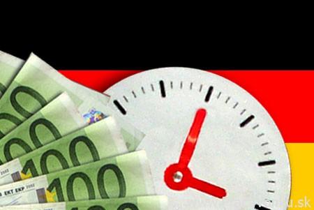 Minimálna mzda, pracovný čas atď. v Nemecku